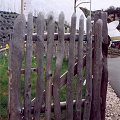 Picket gates